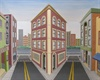 Subjective Realsim and 3D optical illusion by Albuquerque New Mexico painter Ken Killebrew