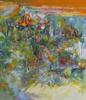 Abstract oil paintings by Colorado artist Jerri Brackett