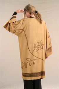 Shibori Bog Coat