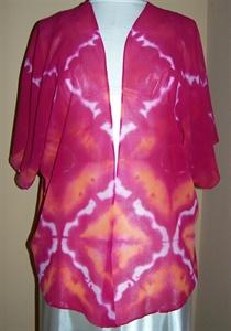 Silk chiffon jacket