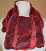 Nuno felted Silk & Merino Wool Scarf
