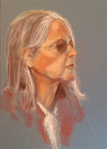 Woman with Dark Glasses