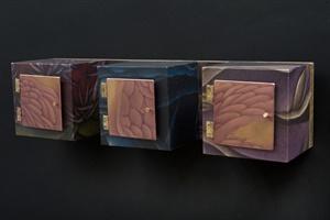 Three-Frame-box wall-hanging