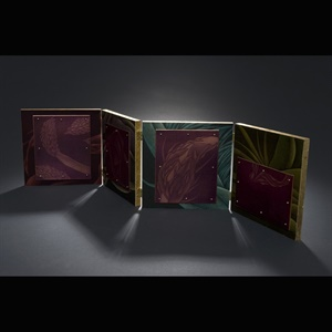 Disjecta Membra - Accordion Book