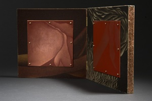 Diptych with Red Plates