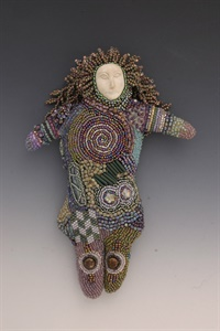 Beaded Art Dolls