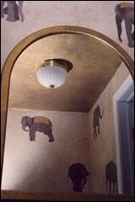 Elephant Powder room