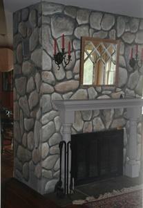 """""""Stone"""" Fireplace"""