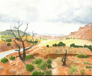 Capitol Reef Scenic Drive, Storm