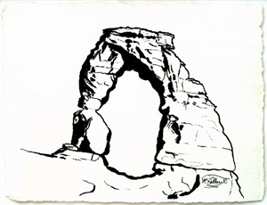Delicate Arch, the Arch Stands Alone