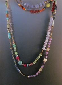 Neckpiece and Bracelet