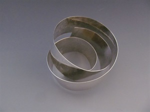 Sterling Silver Narrow Wrap Band