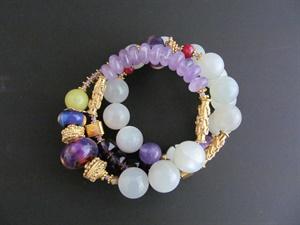 BRACELETS Gemstone Wrap Bracelets