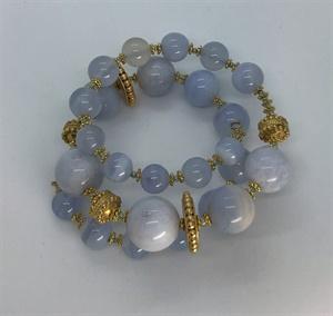 Gemstone Wrap Bracelet
