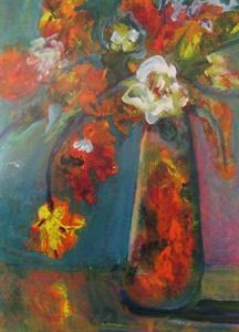 Floral Teal