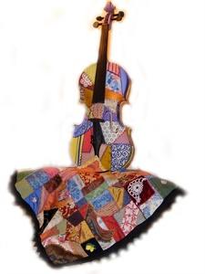 Crazy Quilt Violin