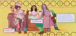 Snow White and the 12 Dwarves of Menopause close up