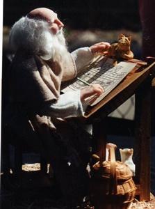 Noah Planning the Ark