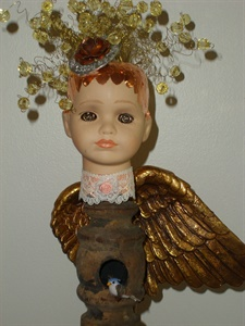 Rose Garden Angel - close up