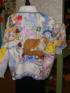 Tea Party Jacket back