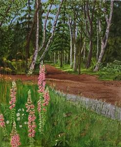 Foxglove in the Botanical Garden—Anchorage