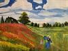 Monet's Poppy Field