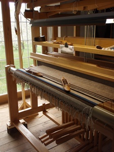 LOOMINATIONS - IN THE STUDIO ON THE LOOM