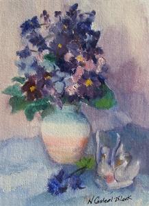 Study in Violet & Blue