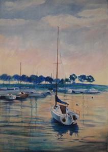 Dawn, Belmont Harbor