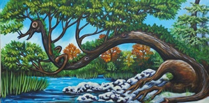Oil Paintings; Florida Landscapes