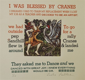I Was Blessed by Cranes
