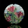 Landscape Floral Lentil Bead