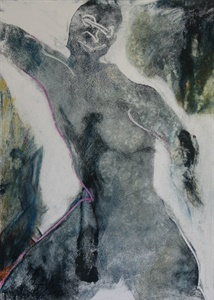 Figurative Oil on Paper