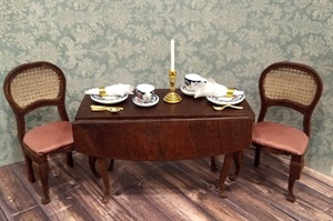 Miniature Dinning Table and Chairs