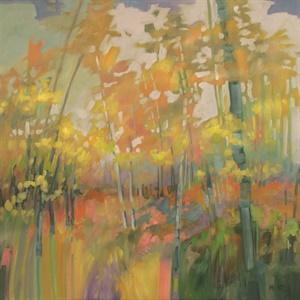 61-17 Spring Birches #3