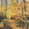 62-17 Spring Birches #4