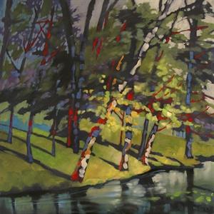 82-17 Lake Trees