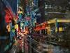 102-18  City Street At Night