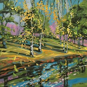 105-18  River Birches
