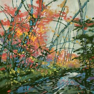 110-18  Spring Riverbank