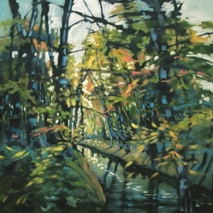139-18  Forest Stream