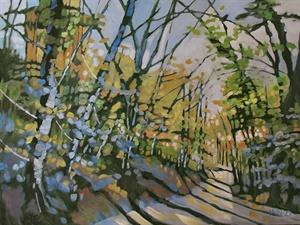 180-18  Woodsy Path #3