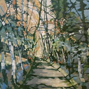 81-19  Sunlight On A Path