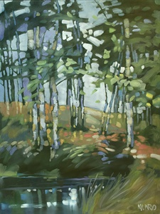92-19  Trees By Water