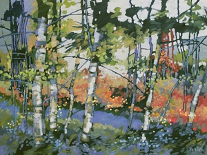 121-19  River Through Woods 121