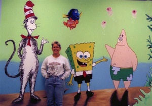 Sponge Bob and friends