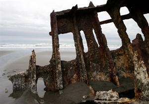 Oregon shipwreck