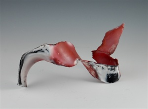 Free Form Pit Fired Sculpture
