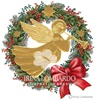 CH 022 Golden Angel in Wreath