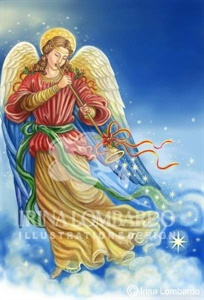 CH 035 Angel  Renaissance Style